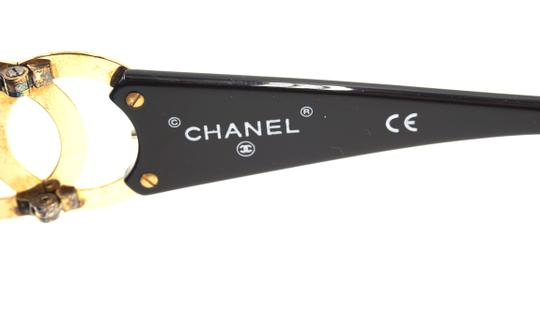 Chanel RARE long gold chain CC Sunglasses celebrity runway collector's piece Image 6