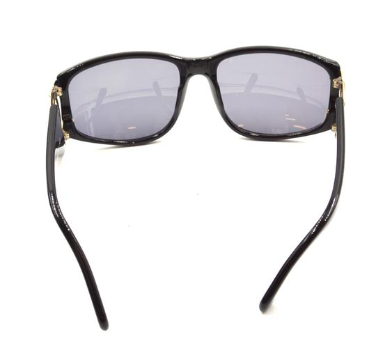 Chanel RARE long gold chain CC Sunglasses celebrity runway collector's piece Image 7