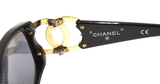 Chanel RARE long gold chain CC Sunglasses celebrity runway collector's piece Image 9