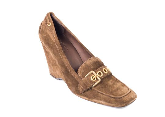 The Original Car Shoe Tan Pumps Image 0
