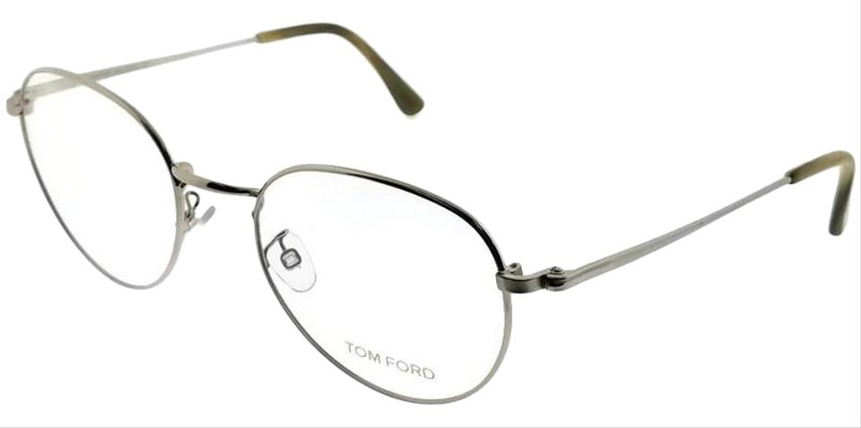 48411e2ef5668 Tom Ford FT5328-016 Unisex Silver Frame Clear Lens 51mm Genuine Eyeglasses  Image 0 ...