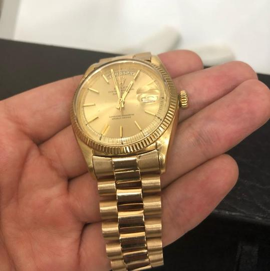 Rolex Rolex Yellow Gold and Champagne Day Date President 36mm 18k Watch Image 3