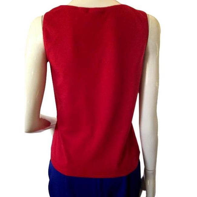 Chico's Top Red Image 4