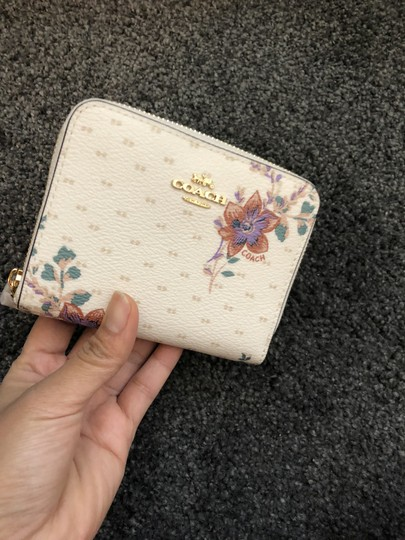Coach Coach Small Zip Wallet with Magnolia Print Image 1