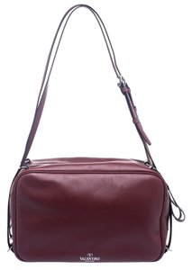 Valentino Leather Fabric Chic Shoulder Bag