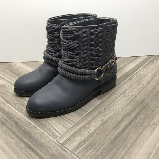Ivy Kirzhner Ankle Rose Gold Braided Casual Gray Boots Image 1