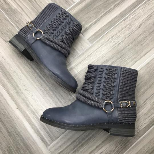 Ivy Kirzhner Ankle Rose Gold Braided Casual Gray Boots Image 2