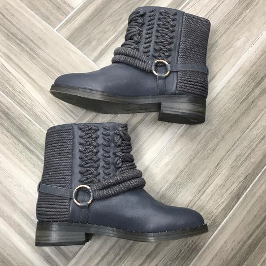 Ivy Kirzhner Ankle Rose Gold Braided Casual Gray Boots Image 4