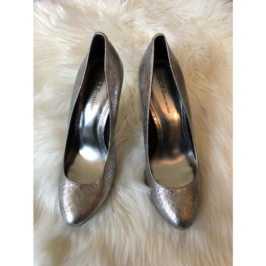 BCBGeneration silver Pumps Image 1