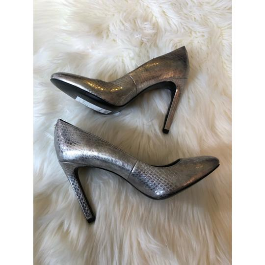 BCBGeneration silver Pumps Image 2