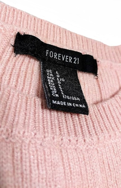 Forever 21 Thrashed Patchwork Distressed Destroyed Holes Sweater Image 5