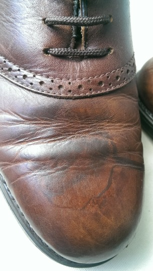 Easy Spirit Brown Men's Leather Mitchel Oxford Dress Casual 11 Shoes Image 2