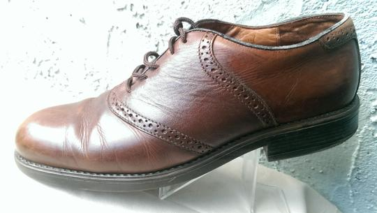 Easy Spirit Brown Men's Leather Mitchel Oxford Dress Casual 11 Shoes Image 3
