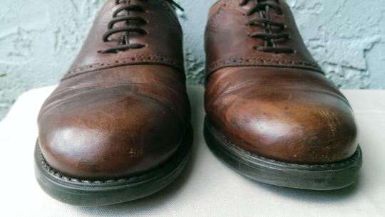Easy Spirit Brown Men's Leather Mitchel Oxford Dress Casual 11 Shoes Image 5