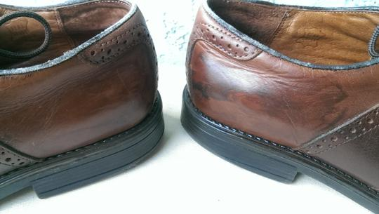 Easy Spirit Brown Men's Leather Mitchel Oxford Dress Casual 11 Shoes Image 7