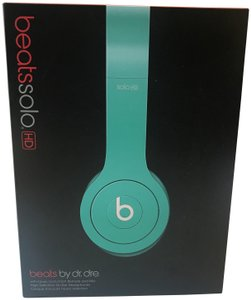 Beats By Dre Beats Solo HD On-Ear Headphones (Drenched in Teal)