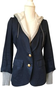 Smythe Hooded Blue Blazer
