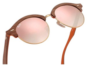 Ray-Ban Ray-Ban Clubmaster Clubround Wood Sunglasses