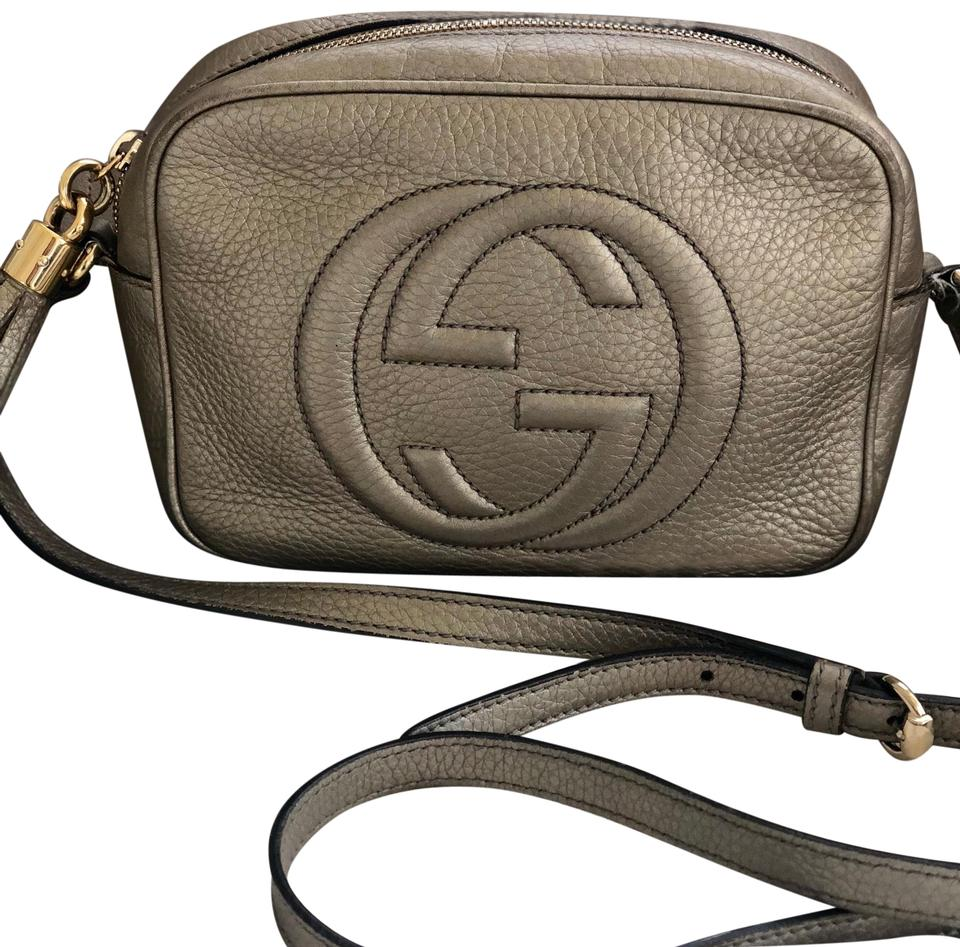 d36ec3bce67f Gucci Soho Small Disco Gold Leather Cross Body Bag - Tradesy