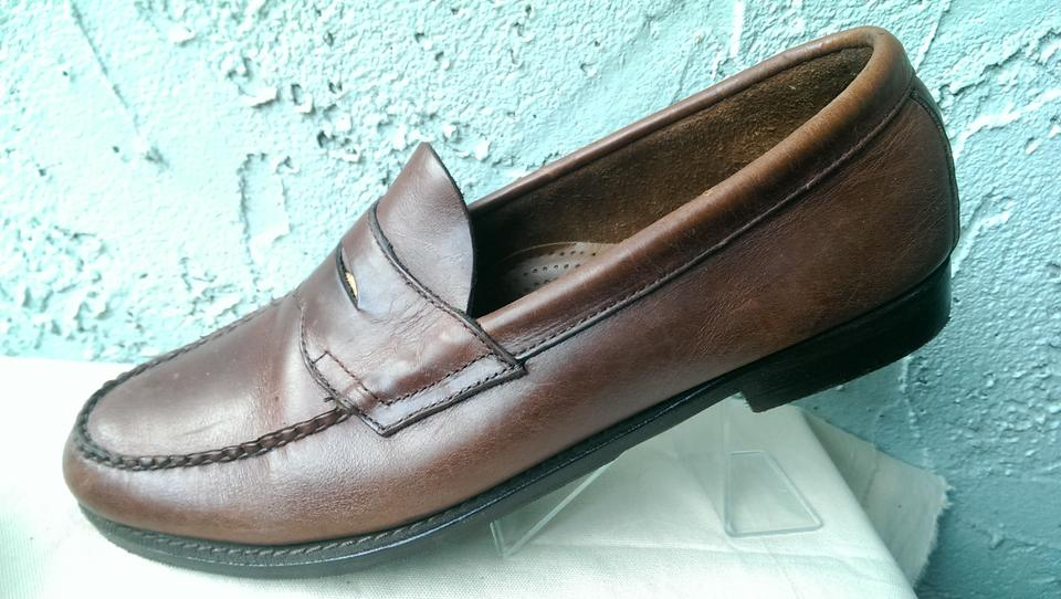 89bb566aeb4 G.H. Bass   Co. Brown Weejuns Wilton Men s Leather Casual Dress Penny Loafer  11 Shoes - Tradesy