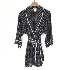 Kate Spade Robe Polka Dot Robe Jacket