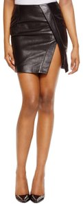 NICHOLAS Mini Skirt BLACK