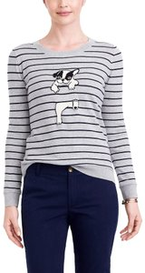 J.Crew Weekend Preppy Intarsia Graphic Collection Sweater
