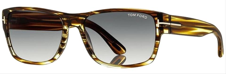784dccd8d7 Tom Ford Grey Marble Frame   Grey Lens Unisex Square Sunglasses ...