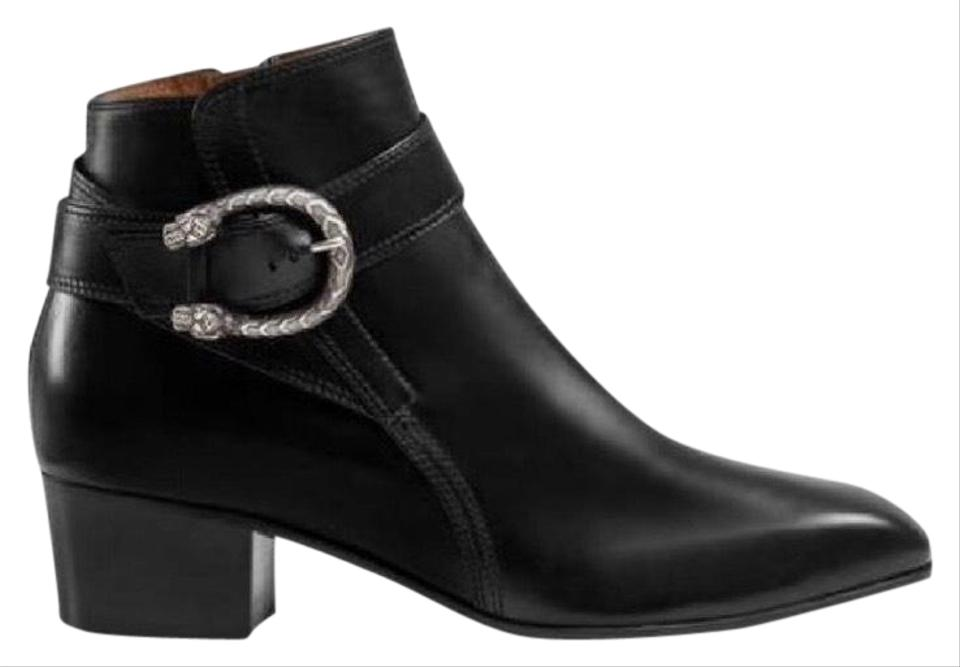 fa96f444c6a Gucci Dionysus Leather Ankle Women Boots Booties Size EU 39 (Approx ...