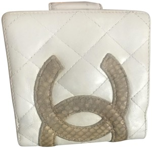 Chanel Chanel bifold clutch snakesin CC cambon wallet