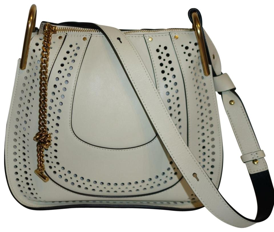 be5975e09728 Chloé Hayley Hobo Off White Leather Shoulder Bag - Tradesy