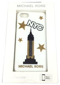 Michael Kors Michael Kors Hard Cover Case for iPhone 7 or 8 NYC