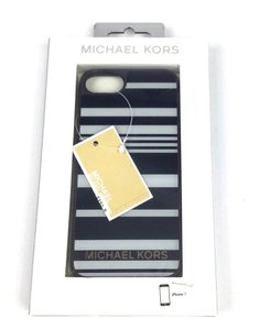 Michael Kors Michael Kors Hard Cover Case for iPhone 7 Navy Blue/Gray