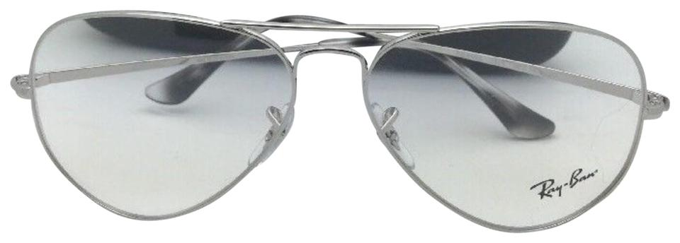 57c070d019 Ray-Ban New Aviator Classic Rx-able Rb 6489 2501 58-14 Silver Frames ...