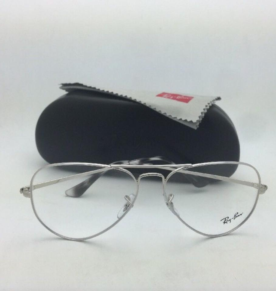2ff3103b1d9 Ray-Ban New Aviator Classic Rx-able Rb 6489 2501 58-14 Silver Frames  Sunglasses - Tradesy