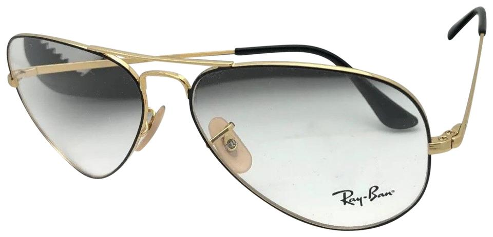 a1c77e41dcd4 Ray-Ban New Aviator Rx-able Rb 6489 2946 58-14 140 Black   Gold ...