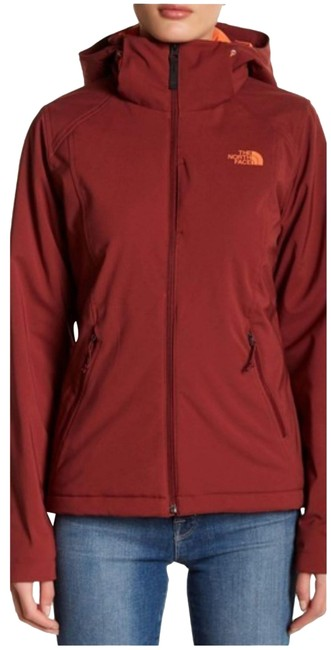 Item - Burgundy/Orange Apex Elevation Jacket Size 4 (S)