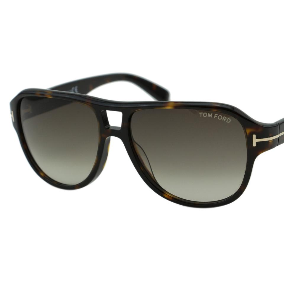 0dcbbb9c639 Tom Ford New TF Dylan FT0446 52K Men Acetate Aviator Sunglasses 57mm ...