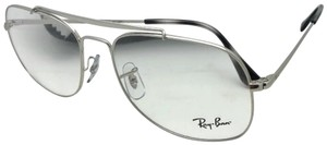 Ray-Ban New RAY-BAN Aviators Eyeglasses THE GENERAL 6389 2501 55-16 140 Silver