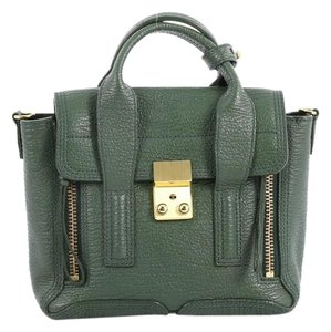 3.1 Phillip Lim 3.1philliplim Leather Satchel in green