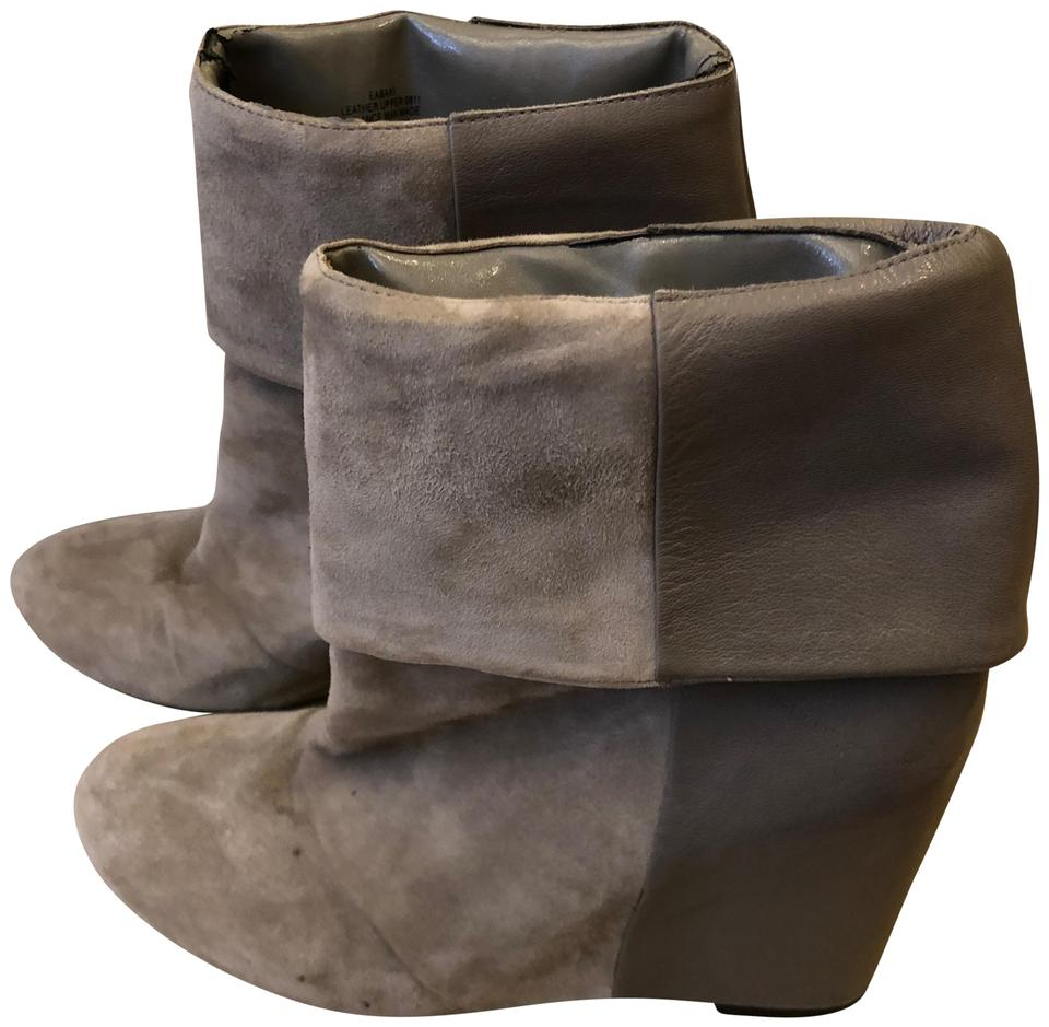 be3c9cc68 Enzo Angiolini Tan Suede and Leather 8.5m Boots Booties Size US 8.5 ...