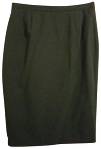 Larry Levine Skirt Olive