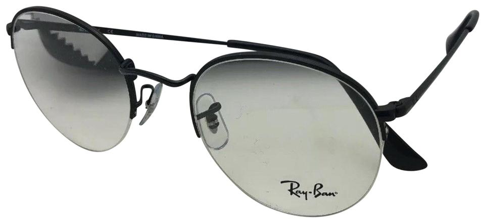 c5791193f9 Ray-Ban New Rx-able Rb 3947v 2509 49-22 140 Round Semi Rimless Black ...