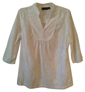 The Webster at Target Boho Bohemian Cotton Lacy Feminine Preppy Classic Casual Beach Spring Travel Comfortable Comfy Lace Fine Sey Sexy Fun Top white
