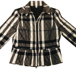 Burberry charcoal & white Jacket
