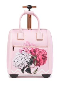 Ted Baker Polyester Carry On Suitcase Palace Garden Dusky Pink Travel Bag