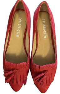 Chelsea Crew red Pumps