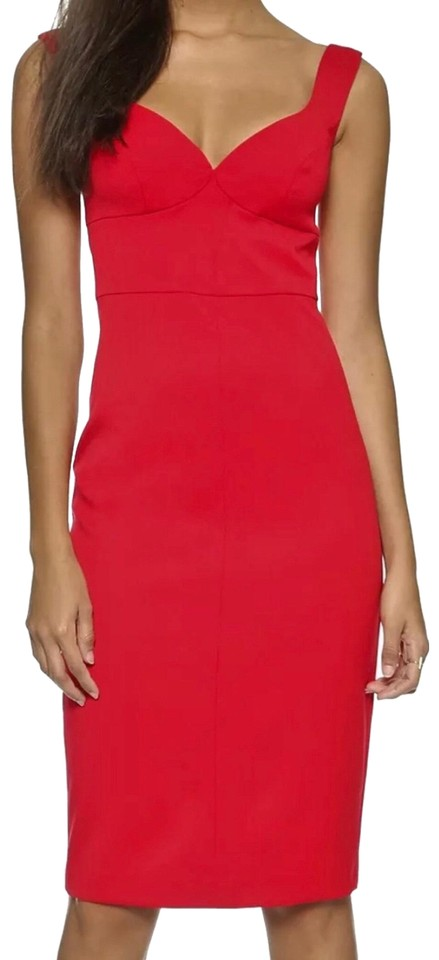dd1c81be Black Halo Red Ally Sheath Short Night Out Dress Size 6 (S) - Tradesy