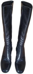 Enrico Antinori Leather Italian Black Boots
