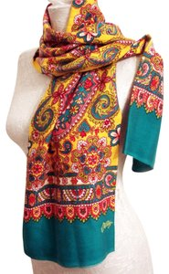 """Oilily NEW OILILY PAISLEY FLORAL SCARF 51"""""""